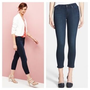 Paige Verdugo Crop Jeans in Cameron